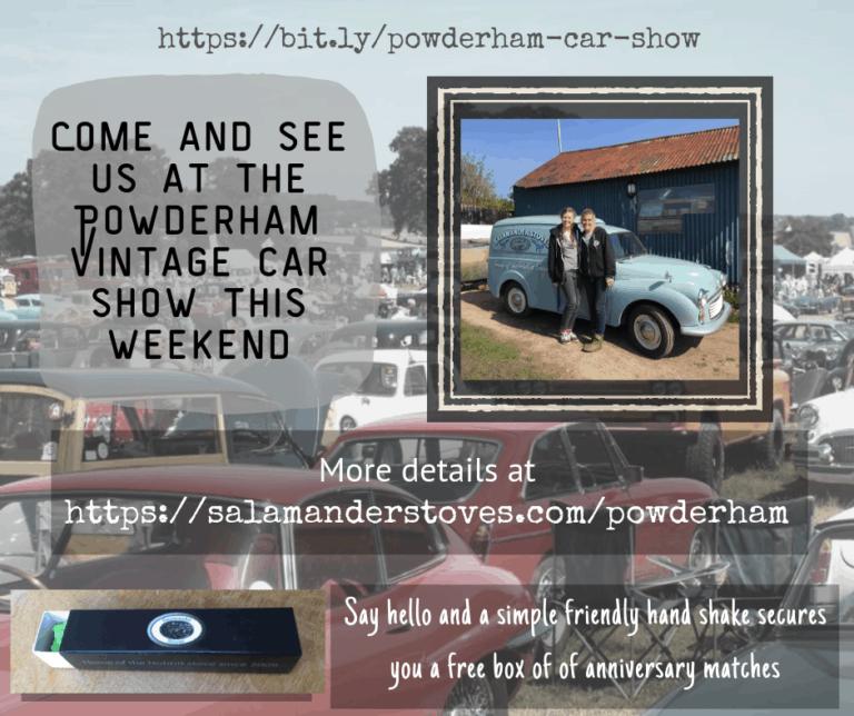Powderham Vintage Car Show