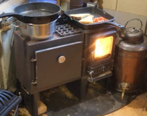 small cook stove for small spaces