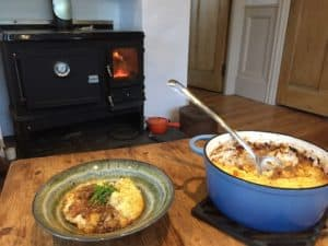 shepherds hut small stove