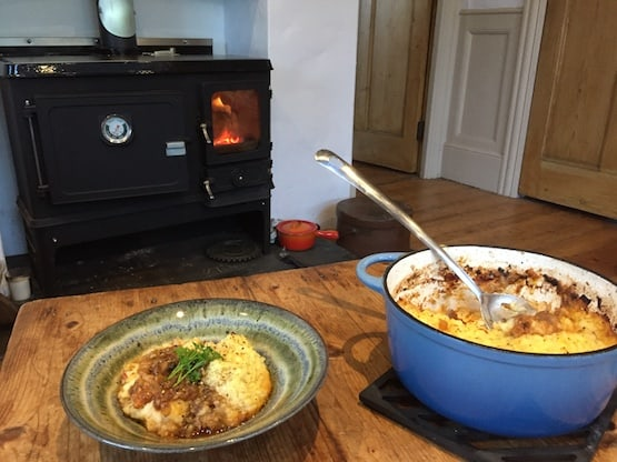 Wood stove shepherds pie and shepherds hut stove & flue kit special offer