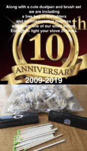 small stove the Hobbit 10th anniversary
