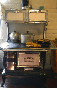 tiny wood cookstoves