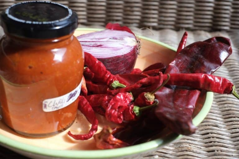 Stove top Chilli sauce – Hot stuff from the Hobbit kitchen.