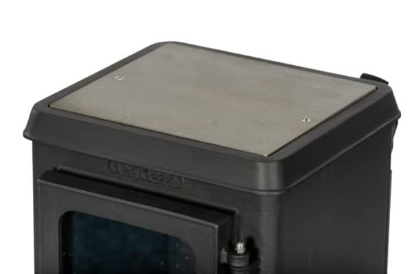 Small Stove With Stainless Steel Cooktop