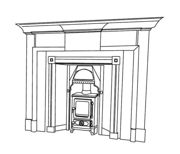 Household Fireplace Flue Kits