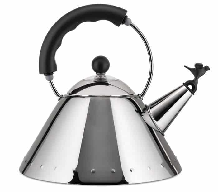 The Little Bird 9093 Alessi Stovetop Kettle (Black)