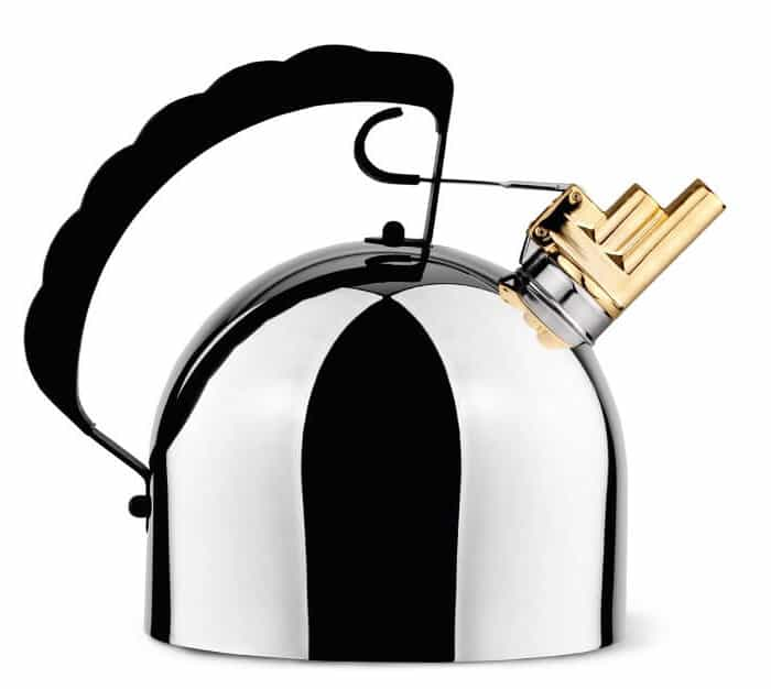 The Sapper 9091 Alessi Stovetop Kettle