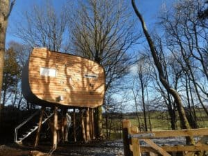 small stove treehouse