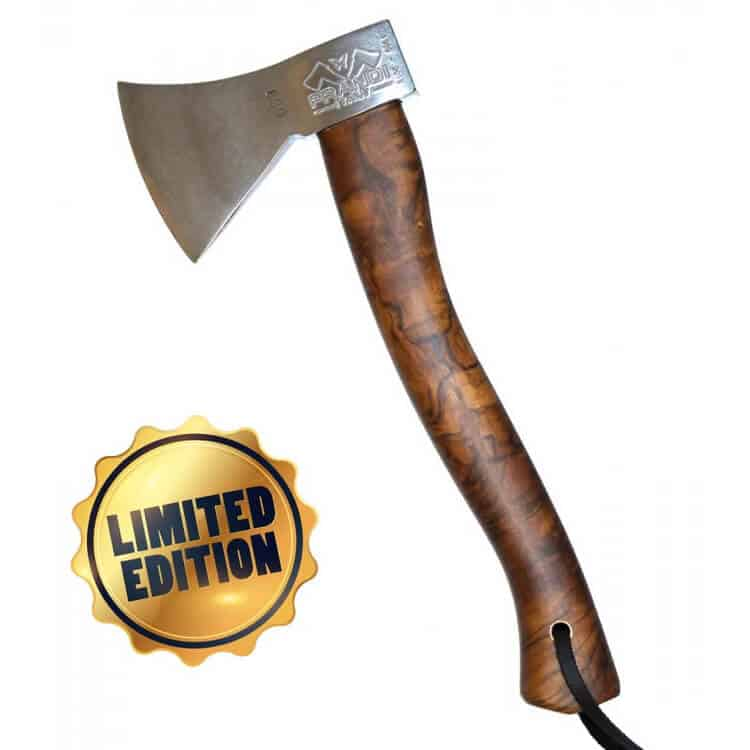 Limited Edition Prandi Hand Axe With Hickory Handle