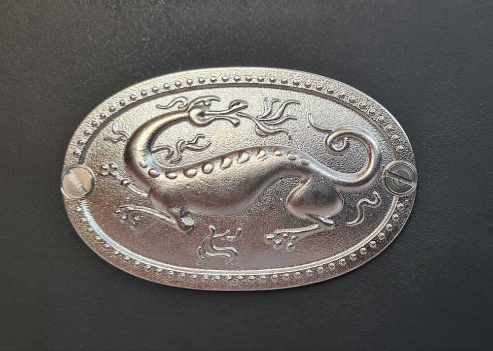 Silver Salamander Badge