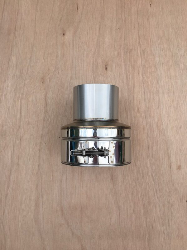100mm-adaptor-appliance-connector-for-small-wood-stoves-single-wall-to-twin-wall-insulated-flue-pipe-1