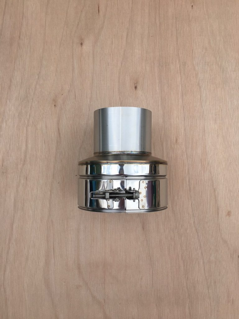 100mm Twin Wall Insulated Flue – Appliance Connector