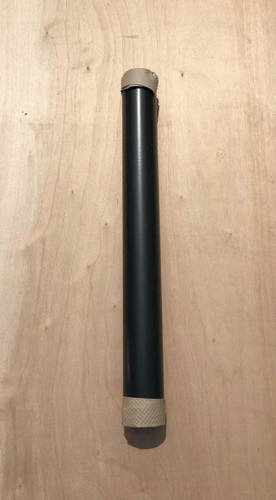 100mm Single Wall Vitrelux Flue Pipe – 1000mm Length